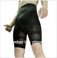 Hot sale free shipping Men's high waist male body shaping slimming pants shaper shorts raise the buttocks