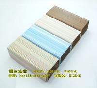Advanced folding glasses case wood grain pattern glasses case shunda box 10pcs/lot