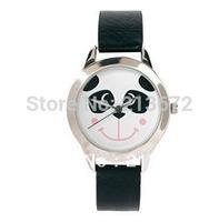 Black bear watch Fashion&casual sport imitation leather watch/wholesale&retail-euramerican-round wristwatches-Free shipping