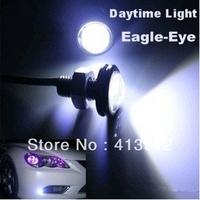 Free EMS/DHL Shipping 100pcs Car led Eagle Eye  DIY 3W High Power LED Lens Ultra-thin White Color Tail light Backup Rear Lamp
