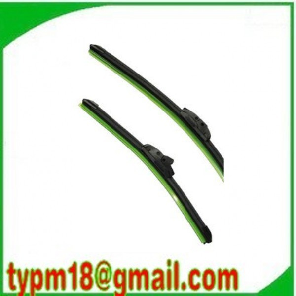 Wholesale!Car Wiper Blade,Natural Rubber Car Wiper,Car Accessory/auto soft windshield wiper 2 size choice 14-24in Free Shipping(China (Mainland))