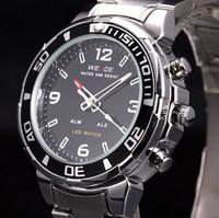 Led dual display aosheng watch cool waterproof male watch 11 - 843