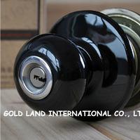 Free shipping 2pcs/set ceramic knob door lock room door lock