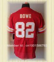 Arrived New Kansas City Football Jerseys 82 Dwayne Bowe Red Elite Jerseys