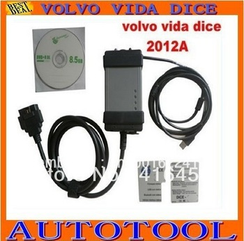 Newest Version vida Dice for Volvo 2013A, Volvo Vida Dice auto diagnostic instrument from Angel