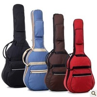 Free Shipping guitar bag thickening double-shoulder back single 6 3 paddles