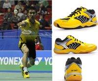SHB - 92 mx yellow LiZongWei badminton shoes size 36-45
