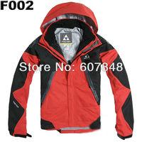 Mens Windstopper Jacket Outdoor Clothing Waterproof Windproof Breathable Winte Ski Wear on Sale F02