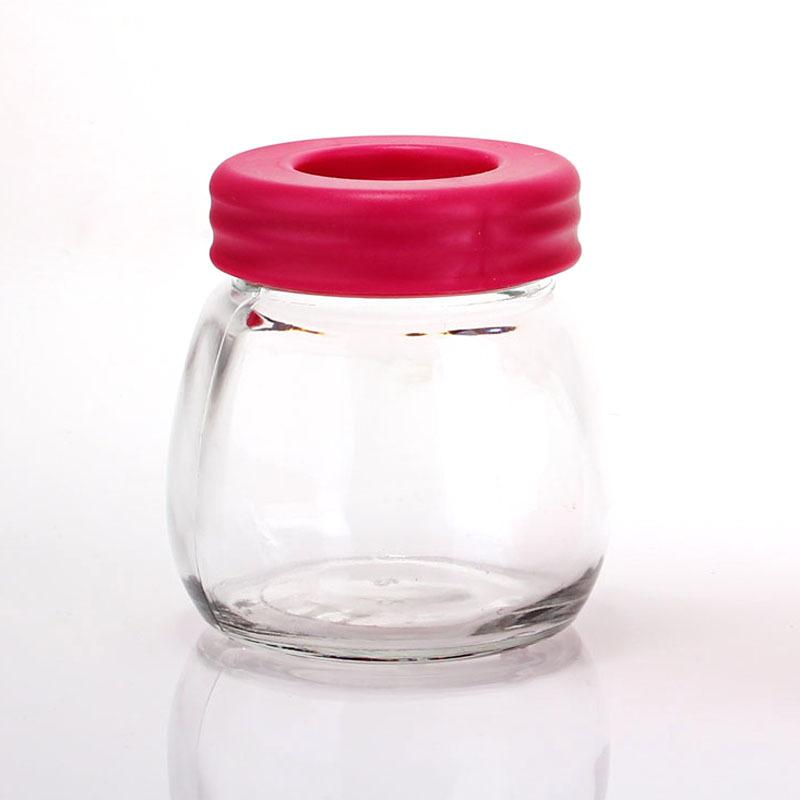 Tanque de lavagem água moedor de grãos de café de vidro vasilha de armazenamento selado três cores(China (Mainland))