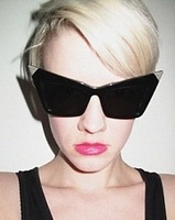 2013 Fashion new Design Women Sunglasses Cat Eye  Women top Brand  Retro Vintage Ladies Sunglasses free shipping
