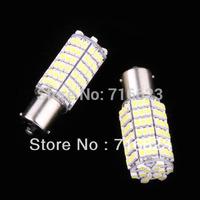 2X1156 BA15S 120 SMD 3528 LED Tail Brake Light Bulb 12V White