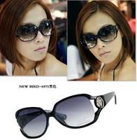 Trend women's classic cutout fashion sun glasses star style sunglasses