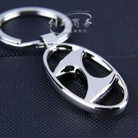 Beijing hyundai emblem metal keychain modern car key ring key ring key chain