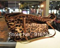 Free shipping! Bags leopard print women's handbag shoulder strap one shoulder bag casual women's  large bag BG059