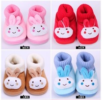 Пинетки Child single shoes baby skidproof toddler shoes cartoon baby shoes male girls shoes soft outsole