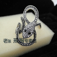 2012 VIENNOIS fashion vintage beauty snake popular female finger ring accessories