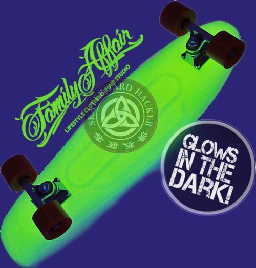 Original Penny LED light skateboard with lighting wheelsmini longboard for Boy Girl Retro Cruiser skate fish long board