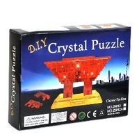 3d three-dimensional crystal puzzle expo