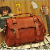2014 time-limited real medium(30-50cm) cell phone pocket cover soft  big shoulder fashion bag 2 color handbags for women