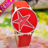 Five-pointed star pointer watches fashion quartz watch