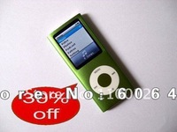 New 9 colors DHL EMS Freeshipping 4th Gen 8GB 8G MP4/MP3 Music Player 1.8'' TFT Screen Video Radio FM