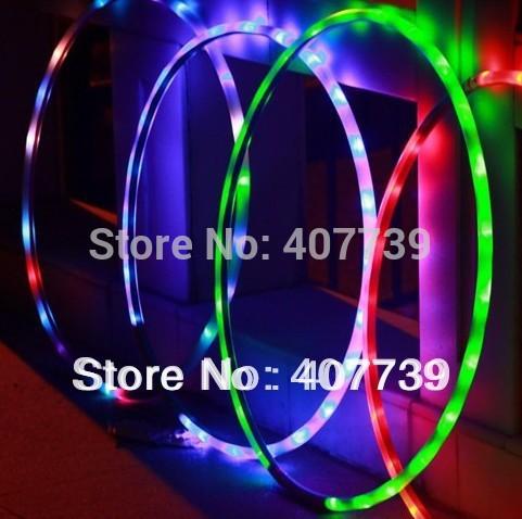 wholesale ab gym diameter 70CM led hula hoop abdominal exerciser pilates sports for health gift free shipping(China (Mainland))