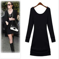 Free Shipping 2013 New arrival Yigue Europe Style Women's Dress,Fashion Cotton Above Knee Dress