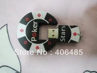Wholesale   Freeshipping novelty gift usb flash dirve poker usb flash drive  2GB/4GB/8GB/16GB/32GB