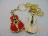 Mini Violin Jewelry USB Flash Drive Real 1GB 2GB 4GB 8GB 16GB 32GB 64GB OEM metal USB flash stick Christmas Gift Free Shipping