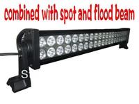 free ship spot /flood beam 22 inch ATV  SUV off-road 120W LED Light Bar driving rear  lights truck car light