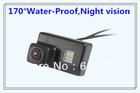 Special car rear view camera,water-proof,reversing backup kit for Peugeot 206/207/307/307SM/307SW retail/lot+free shipping!