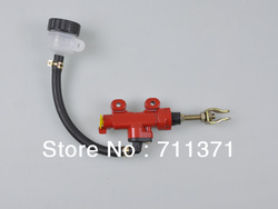 Red Rear Brake Pump For CBR250 CBR400 CBR600 CBR1000 CB400 600 900 Brake Master Cylinder Motorcycle Modification(China (Mainland))
