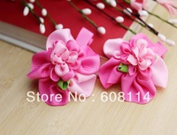 Free Shipping,Wholesale(36 pcs/lot) Cute Flower Pattern Cloth Little Girls' Hairgrips/Hair Ornament/Kids'  Headwear
