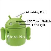 Free shipping//Amazing Rainbow LED Projector Lamp Night Light (4xAAA)  //CW0267