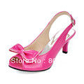 Patent Leather Kitten Heel Sandals / Peep Toe With Bowknot Party & Evening Shoes (More Colors Available)