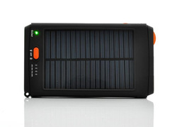 Excellent ! 11200MAH portable solar charger for moble phone laptop notebook mp3 mp4 etc solar power bank Free Shipping .(China (Mainland))