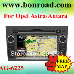 2 din multimedia center for opel Meriva gps dvd free map(China (Mainland))