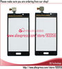 for LG Optimus L7 P700 P705 Touch Screen Digitizer black colour free shipping(China (Mainland))