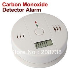Free shipping Free shipping CO Carbon Monoxide Poisoning Smoke Gas Sensor Warning Alarm Detector Tester LCD(China (Mainland))