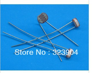 200 x 5528 Light Dependent Resistor LDR 5MM Photoresistor wholesale and retail Photoconductive resistance(China (Mainland))