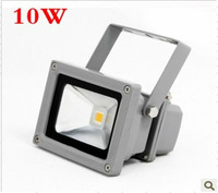 wholesale 50000H 10w ip65 led flood light  AC220v Warm white color  +Free freight  4pcs led housing