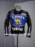 Free shipping CAMEL men's motorcycle jacket motorcycle racing jacket PU leather motorcycle jacket [FO08]