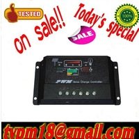 New Type! 10A 12V 24V Auto intelligence Solar Charge Controller Regulators free shipping  FEDEX or DHL