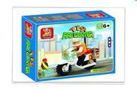 Freeshipping! SLuban Building Block Mini Fire Motor 3D Jigsaw Puzzle Education-assembling toys for kids  M38-B3200 28pcs