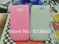 New Arrival Multi-color Silicone Soft Case Back Cover For Samsung Galaxy Note II 2 N7100,800Pcs/Lot Free Shipping