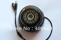 Free Shipping Black 700TVL Sony 36 LEDs IR CCTV Color CCD Dome Indoor Camera S84-11