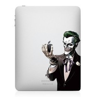 Diy Joker Vinyl Decal Sticker For Ipad2 Ipad3   Free Shipping