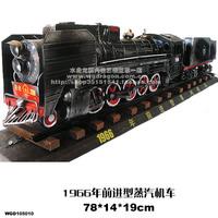 Metal steam train - handmade cars 08