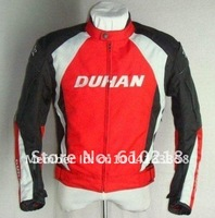 2012 free shipping DUHAN Men's Motor Oxford Jacket Motorcycle Jacket Racing Jacket Motocross jacket,Racer Jackets black fghyu