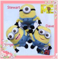 Children's plush toys Despicable Me Minion Fan Souvenirs Plush Toy 3D Stuffed Animal 3x Figure Doll